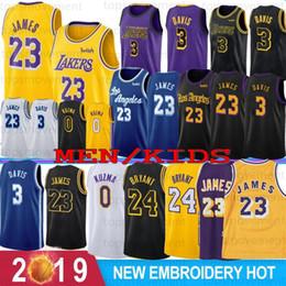Kobe jersey 24 online shopping - NCAA Crenshaw LeBron James Anthony Davis College Basketball Jerseys Kobe Bryant Johnson Kyle Kuzma Men Youth Hot