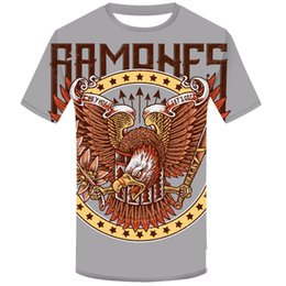 ce02844c986eff Hipster Tees Summer Men's T Shirt RAMONES Punk Music Band God Design T-shirt  Cool Short Sleeve Tops 2019