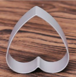 Sugar Cookies Cutter Australia - 1Pcs Stainless Steel Heart Shaped Gift Cookie Mould Cutting Mould Fondant Pastry Sugar Cutter Mould Baking Tools 70