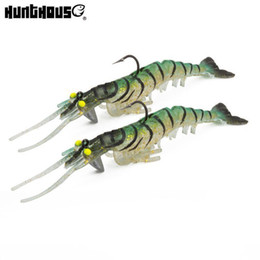$enCountryForm.capitalKeyWord NZ - 2pcs Hunthouse Shrimp Lures Fishing Tackle Best Artificial Rattlin 13.5cm Soft Lure Prawn For Sea Trout Bass Fishing Baits