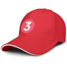 $enCountryForm.capitalKeyWord UK - One Size Men Women Baseball cap Chance The Rapper 3 Sticker Circle Red custom baseball hats High Bun hats 100% Cotton