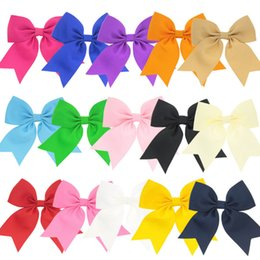 kid hair clips for sale UK - Hot Sale Mixed Colors swallow tail Hair Bows HairPin for Kids Girls Children Accessories Baby Hairbows Bows with Clips