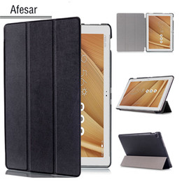 $enCountryForm.capitalKeyWord Australia - Ultra Slim leather book Cover for ASUS ZenPad 10 10.1-inch Z300 Z301 P023 P01T P021 Tablet magnetic flip folio stand smart Case