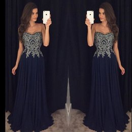Discount deep sweetheart neckline mermaid - Black and Silver Prom Dresses Long robes de soiree Strapless Sweetheart Neckline Beaded Chiffon Formal Evening Gowns App