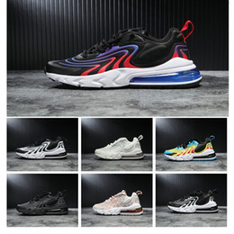 Discount limited edition rubber shoes for men - 2019 New React Eng Limited Edition Transparent Fish Creel Cushion Shock Absorption Running Shoes For Mens Top Quality Fa