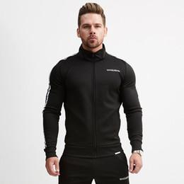 $enCountryForm.capitalKeyWord UK - New 2018 Men Casual Hoodies Fitness Brand Clothing Camisetas Tracksuits Men Bodybuilding Sweatshirt Muscle Hooded Jackets M-2XL