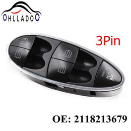 switch mercedes benz Australia - HLLADO New Master Window Control Switch Power Window Switch 2118213679 For Benz W211 E240 E240 E500 E63 AMG CL CLS 2118210158