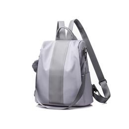 $enCountryForm.capitalKeyWord UK - Simple Middle Stripe Design Women Soft Backpack