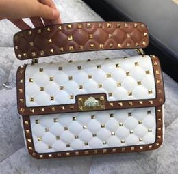 $enCountryForm.capitalKeyWord Australia - Luxury classic designer tote bag quality genuine leather womens shoulder bag crossbody bag 2019 new rivet handbag 11