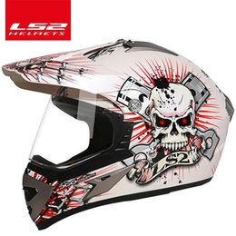 Ls2 Off Road Helmets Australia - New Arrival Motorcycle Helmets ls2 mx433 helmet Adult motocross Off Road Helmet ATV Dirt bike Downhill racing helmet