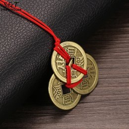 $enCountryForm.capitalKeyWord Australia - FANALA Lucky Necklaces Emperor Amulet Wealth And Coins For Brass Money Coin Collection