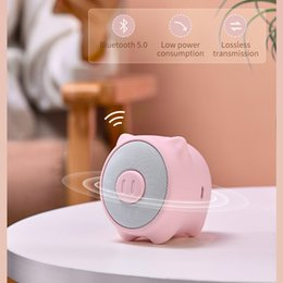 car bass sound Canada - Baseus Portable Bluetooth Speaker Better Bass Colorful Animal Model Waterproof Stereo Sound Mini Speaker For Home & Car