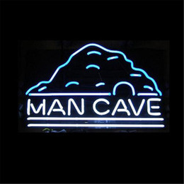 men neon signs Canada - New Star Neon Sign Factory 17X14 Inches Real Glass Neon Sign Light for Beer Bar Pub Garage Room Man Cave TN517.