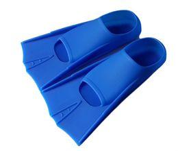 Sapo sapatos mergulho barbatanas equipamento de mergulho snorkeling três tesouros natação barbatanas luz negra formação profissional e azul dois col em Promoção