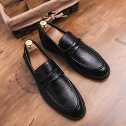 $enCountryForm.capitalKeyWord Australia - Charming2019 Affairs Business Leisure Time Le Fuxie England Genuine One Pedal Ins Small Leather Male Shoes Tide