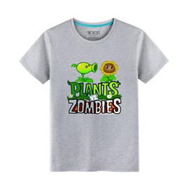$enCountryForm.capitalKeyWord NZ - Plants vs. Zombies Symbol Children Summer Short Sleeve T-shirt Tees Costume Cool