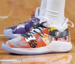 269240ddea1 Paul George PG1 Shining Ferocity Dream Off Hook Zoom Low Men Basketball  Shoes 1s Los Angeles Home Glacier Grey Ivory Sports shoes