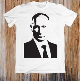 simple cosplay NZ - VLADIMIR PUTIN SIMPLE FACE UNISEX T-SHIRT jurney Print t-shirt Cool tshirt harajuku Trump fear cosplay
