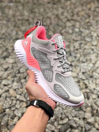 Comfortable Shoes Breathable Fabric Australia - Brand 2019 summer comfortable and breathable lovers' soft sole casual running shoes mesh surface sneakers breathable fashion casual