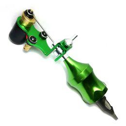 Wholesale Pro New Design Direct Drive Rotary Tattoo Machine Gun ink needles kit supplies Cartridge Grip short needles