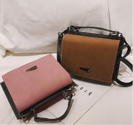 421b830bd296 2018 new women autumn and winter Korean version single-shoulder cross-body bag  fashionable trend small square bag versatile handbag