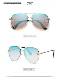 beach party sunglasses NZ - New Brand Designer Fashion Sunglasses Women's Men's Oversized Pilot Sun Glasses for Women Shades for Party