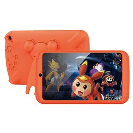 "pink kid tablet 2020 - Kids Tablet PC 7"" 7inch Quad Core children tablet Android 4.4 ALLWINNER A33 google player wifi + big speaker"