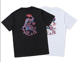 $enCountryForm.capitalKeyWord UK - Top Quality Fear of god T-Shirt Men Women High Quality Cotton Tee Hip Tide Brand Streetwear Mens Black White 3d Print the dragon Clothing