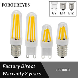RefRigeRatoR bulbs online shopping - Free Sample G9 E12 E14 Led Bulb AC220V V W W Filament Light Degree Mini LED Refrigerator Light