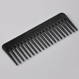 heated comb NZ - 3 Color 19 Teeth Hair Comb Heat-resistant Large Wide Tooth Hair Comb Detangling Wide Teeth Hairdressing Comb
