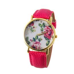 Small Round Clocks Australia - Geneva PU Leather Strap Wrist Watches For Women Fashion Square Small Dial Quartz Watch Lady Casual Clock Relogio Feminino #LH