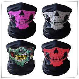 $enCountryForm.capitalKeyWord Australia - Skull Masks Neoprene Skull Bandana Face Mask Skeleton Scarf Sking Warm Paintball Sport Bike Motorcycle Helmet Balaclava