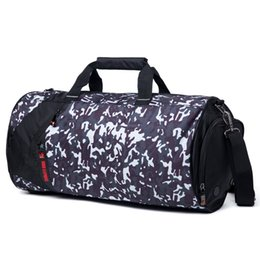 674af41bca37 Waterproof Sports Gym Travel Bags Large Capacity Yoga Bag Camouflage  Training Fitness Backpack Luggage for Men Women
