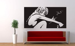 $enCountryForm.capitalKeyWord Australia - Vinyl Anime Japan GirlManga Beauty Sex Wall Sticker Art Painting Wall Art Tattoos Vinyl Decor Decal