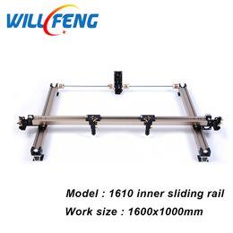 $enCountryForm.capitalKeyWord Australia - 1610 Whole Set DIY Inner Slide Guide Rail For Assemble Co2 Laser Cutter Engraving Machine Install Belt Tube Support