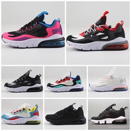 women athletic air shoes Australia - Cheap Athletic Trainer Men Air Rainbow New Sneakers Male Walking kids Sports Black White 2018 Women Running Shoes