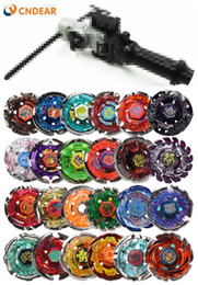 beyblade 24 UK - (Send randomly 8 spin top +1 launcher) Beyblade Metal Fusion 4D Launcher 24 Different Styles Fury Brinquedo Christmas T191109