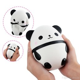 toy pandas Australia - Squishy 14cm Jumbo Squishy Kawaii Panda Bear Egg Candy Soft Slow Rising Stretchy Squeeze Kid Toys Relieve Stress Bauble Children's Day