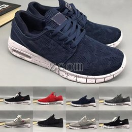 Sb Stefan Janoski Max Shoes Australia - Stefan Sale SB Cheap Janoski Shoes Running Shoes for Women Mens High Quality Authentic Maxes Trainers Sneakers Zapatos Deportivos Size36-45