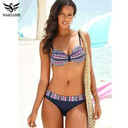 $enCountryForm.capitalKeyWord Australia - Nakiaeoi 2019 New Sexy Bandeau Brazilian Bikinis Women Swimsuits Push Up Swimwear Biquinis Retro Bathing Suits Swim Wear S~2xl Y19072501
