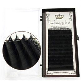 Individual False Eyelashes 14mm Australia - 8 9 10 11 12 13 14mm Grafting False Eyelash Protein Silk Dense Row Planting False Eyelashes 0.15 Dense Row of Soft Eyelashes Black