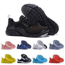 9bbe1302f23f Wholesale Presto BR QS Womens Mens Running Shoes Triple white black Breathe  Greedy Oreo Yellow Red blue Cheaper Sneakers sports 36-45