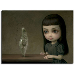 hd prints canvas NZ - Mark Ryden Euglena HD Canvas Posters Prints Wall Art Painting Decorative Picture Modern Home Decoration Accessories HD