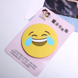Hair Accessory Embroidery Australia - post bangs stickers Korean version of the wild female Velcro large emoticon package hair accessories embroidery text broken hair stick
