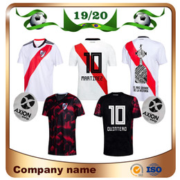 river plate jerseys 2019 - 2020 River Plate home white Soccer Jersey River Plate away black G.MARTINEZ QUINTERO PRATTOSoccer Shirt 19 20 riverbed F