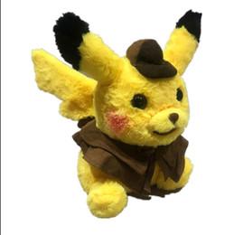 $enCountryForm.capitalKeyWord UK - Best-selling Detective Pikachu Plush dolls 30cm Pikachu plush toys cartoon Stuffed animals toys soft best Gifts