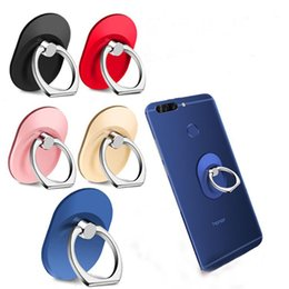 mobile finger grip UK - 360° Fashion Universal Mobile Phone Ring Stent Cell Phone Ring Holder Oval Finger Grip Phone Stand Holder for Iphone Samsung huawei
