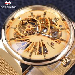 Watches Luxury Skeleton Man Australia - Forsining Brand Men Luxury Skeleton Watch Male Wristwatch Fashion Luxury Thin Small Dial Unisex Design Waterproof Watches SLZc55