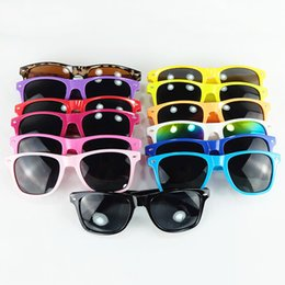 Wholesale Mainstream stylish modern beach candy color meters nail sunglasses sunglasses full frame unisex eyewear colors MMA2145
