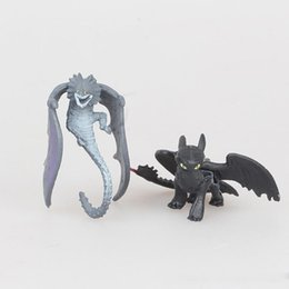 Skull Kid Figure UK - 12pcs set How To Train Your Dragon3 Cartoon Action Figures Toys Toothless Skull Gronckle Deadly Nadder Night Fury Dragon Figures kids toy